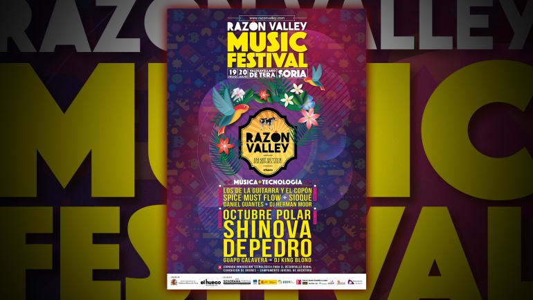 Tu entrada para RAZON VALLEY MUSIC FESTIVAL 3€.
