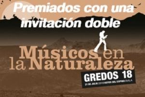Imagen para Premiados con una invitación doble para Músicos en la Naturaleza 2018