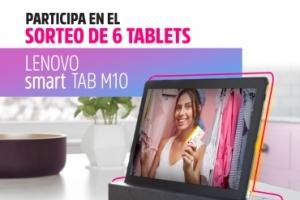 Imagen para ¡AQUÍ ESTÁN LOS PREMIADOS! Sorteo de 6 Tablets Lenovo Tab M10