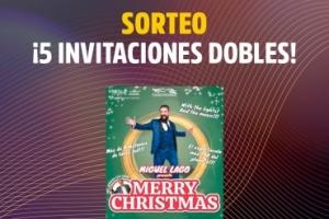 Imagen para ¡AQUÍ ESTÁN LOS GANADORES! Sorteo 5 invitaciones dobles para MERRY CHRISTMAS