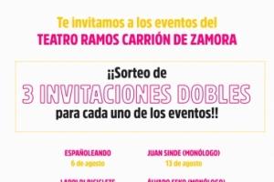 Imagen para Te invitamos a los eventos del Teatro Ramos Carrión de Zamora