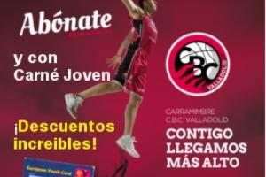 Imagen para 40% descuento en tu abono para el CBC Valladolid